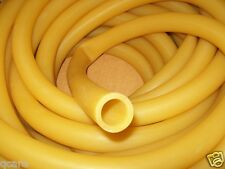 "1"" I.D x 1/8"" wall x 1 1/4"" O.D Latex Rubber Tubing Amber Heavy Duty"