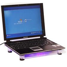 "USB LED Light Big Fan Cooling Pad Cooler for 14.1-15.4"" Notebook Laptop PC HK"