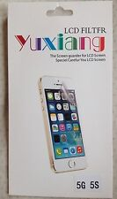 Iphone 5s Screen Guard Protector Lcd New Skin Cleaning Cloth Cover