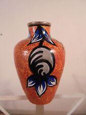 Céramique Vintage 30 Sublime Petit Vase La Charentaise Angoulême Décor Floral