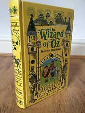 The Wonderful Wizard of Oz First FiveNovels Leather Bound Book / fine binding