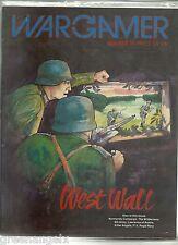THE WARGAMER MAGAZINE 35 - WEST WALL
