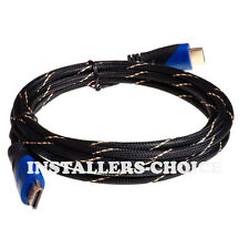 Premium HDMI Cable 12FT For BLURAY 3D PS3 HDTV DVD XBOX LCD TV HD 1080P