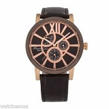 Kenneth Cole New York Men's Classic Brown Analog Display Quartz Watch KC1981