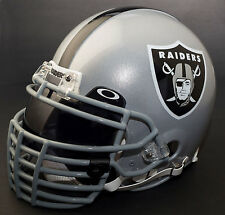 OAKLAND RAIDERS NFL Gameday REPLICA Football Helmet w/ OAKLEY Eye Shield