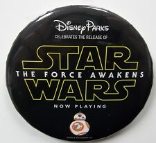 Disney Parks DL WDW Cast Star Wars The Force Awakens BB-8 Pin Badge Button