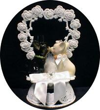 Chihuahuas taco bell dog Bride Groom Wedding Cake Topper top puppy pet Animal