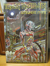 IRON MAIDEN Somewhere in time capital record XDR tapes rock n roll Poster 402