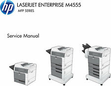 HP LaserJet Enterprise M4555 Service Manual(Parts & Diagrams)