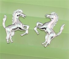 New Free Handmade Fashion Western Silver Fashion Jewelry Horse Stud Earrings