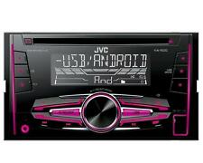 JVC KW R 520 2 DIN Autoradio CD USB Multicolor Android &