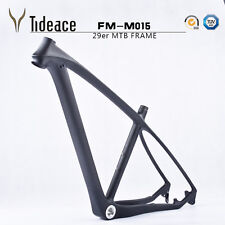 "3K Matt Carbon Mountain Bike Frames 29er 17.5"" MTB Bicycle Frames super light"