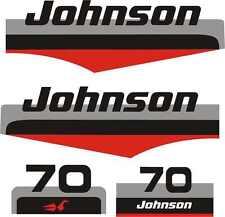 Adesivi motore marino fuoribordo Johnson 70 ho 2t