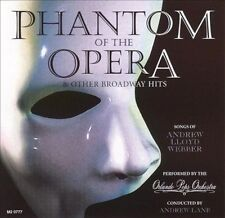 Phantom of the Opera and Other Broadway Hits by Orlando Pops Orchestra (CD, Apr-