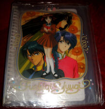 "Fushigi Yuugi Folder 11.5"" x 9.5"" with Notebook pages New Never Used Super Rare!"