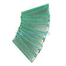 10pcs 2x8cm Double-Side Prototype PCB Universal Printed Circuit Board