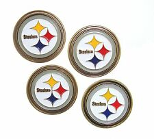 Pittsburgh Steelers NFL Golf Ball Markers (Set of 4)