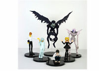 Anime Death Note Rem Lawliet Misa Ryuk Yagami Kira PVC Figure Figurine 6PCS Set