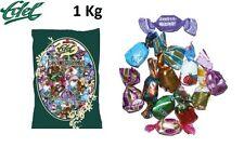 Bonbons Exquisit Mischung 1Kg feinst gefüllte Bonbon-Vielfalt Firma Edel