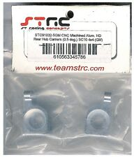 STRC STC91032-5GM Gunmetal Aluminum Rear Hub Carriers SC10 4x4 HopUp Part 0.5Deg