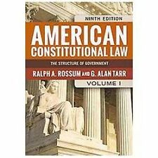 American Constitutional Law, 2-Volume Set-ExLibrary