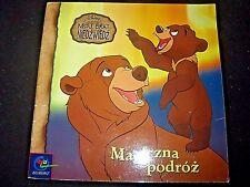MÓJ BRAT NIEDŹWIEDŹ, MAGICZNA PODRÓŻ - 2004, POLISH BOOK, POLSKA KSIĄŻKA ______