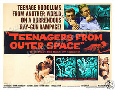 TEENAGERS FROM OUTER SPACE LOBBY CARD POSTER HS 1959 DAVID LOVE DAWN ANDERSON