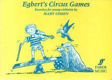 Egberts Circo Juegos Para Violín Partituras Libro Mary Cohen Shop sucias