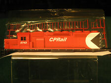 HO Athearn SD40-2 CP Rail snoot shell (with plastic railings)  Mint