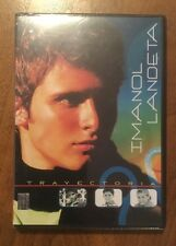 IMANOL LANDETA Trayectoria rare DVD with His Music Videos Pedacitos De Amor