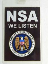 HALLOWEEN COSTUME MOVIE PROP - ID/Security Badges (NSA),