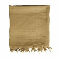 NEW - British Army / Military Desert Sand Shemagh Head Scarf  ( Coyote Tan