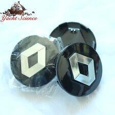4pcs 54mm black wheel center caps for Renault Koleos Logan Fluence Duster Megane
