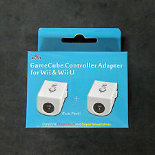 2pcs X  GC Gamecube Controller Gamepad Converter Adapter for Wii , U to Mayflash