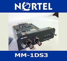 New NORTEL MM-1DS3 MODULE SR3120 SR21040005 SECURE ROUTER CLEAR CHANNEL Open Box