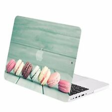 """Macaroon Graphic Rubberized Hard Case for MacBook Pro 15"""" w./ Retina Model A1398"""