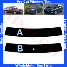Pre Cut Window Tint Sunstrip for Ford Mondeo 4 Doors Saloon 2001-2007 Any Shade