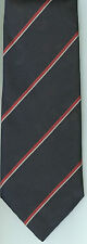Regimental Tie Polyester Stripe ROYAL NAVY