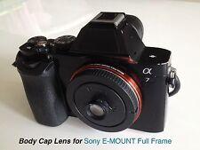 35mm Lens Puncake Body Cap FOR Sony Alpha 7 A7 7R 7S II E-Mount Camera Full Fram