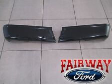 15 thru 16 Ford F150 OEM Genuine Ford Rear Painted Step Bumpers w/o Prox Sensors