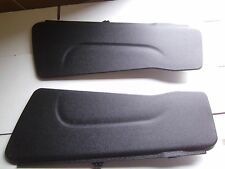 2011-2016 Dodge Grand Caravan Stow and Go Seat Base Panel Cover Flaps Black