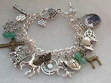 The Outlander Series Inspired Charm Bracelet, Jamie & Claire Love