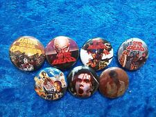 """1"""" pinback button set inspired by Dawn of the Dead Horror"""
