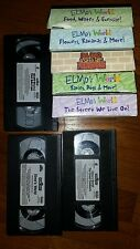 Elmo's World: The Great Outdoors & Elmo vhs movie lot. Sesame street. 8 tapes.