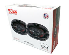 "NEW in Box BOSS Chaos Exxtreme 6""x9"" 4-Way 500W Full Range Speaker Pair CH6940"