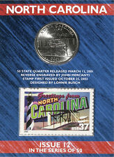 USPS North Carolina State Quarter� and Stamp Set