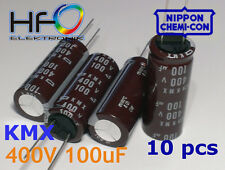 [10pcs]..NIPPON CHEMI CON series KMX 100uF 400V super LONG LIFE capacitors 105'C