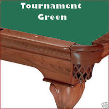 9' Tournament Green ProLine Classic Billiard Pool Table Cloth Felt - SHIPS FAST!