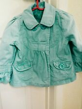 autumn spring casual elegant formal blue girl princess jacket coat 2-3 years