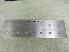 Fisher X-100-B Tube Amplifier Faceplate Only,  VERY NICE